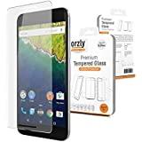 Orzly® - Premium Tempered Glass Screen Protector for LG NEXUS 5X SmartPhone (5.2 Inch Version - 2015 Model) - 0.24mm Protective Oleophopbic Screen Guard - Transparent