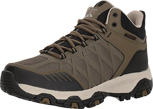 Skechers Men's Terrabite - Turbary Olive/Black 9.5 E US (Shoes Width Wide Hiking)