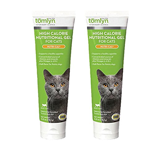 - Tomlyn High Calorie Nutritional Gel for Cats, (Nutri-Cal) 4.25 oz