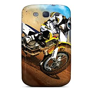 Fashionable Style Case Cover Skin For Galaxy S3- Suzuki Motocross