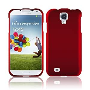 [GTE Zone] For Samsung Galaxy S4 i9500 Rubberized Cover - Red