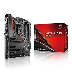 ASUS ROG MAXIMUS IX CODE - Placa base para gaming (LGA 1151, 2 x PCIe 3.0 x16, 14 nm, HDMI, WiFi, Bluetooth, SupremeFX sonido, 6 x USB 3.0, Intel HD Graphics, 4 x DDR4)