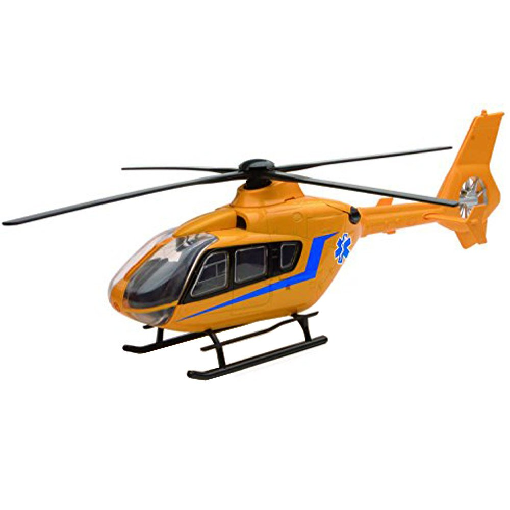 NewRay Helicopter 1:43 Diecast Airbus EC 135 Collection Gelb Farbe Model