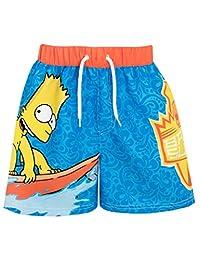 The Simpsons Boys Bart Simpson Swim Shorts