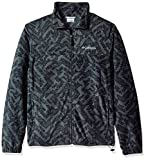 Columbia Men's Cascades Explorer Full Zip Fleece Jacket, Grill Galicut Grey, X-Large