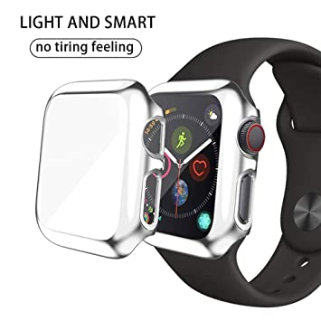 Cerike - Carcasa rígida para Apple Watch Serie 3 (42 mm ...