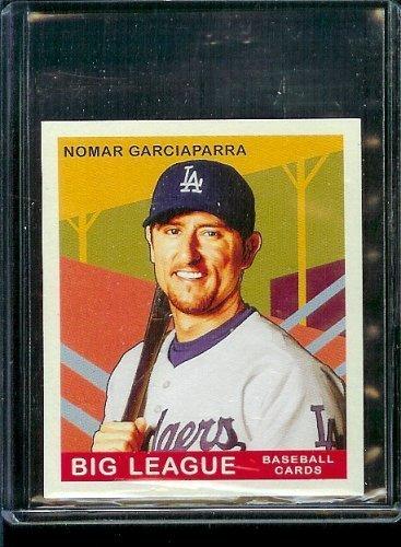 2007 Upper Deck Goudey Baseball Red Back # 159 Nomar Garciaparra - Dodgers - MLB Trading Card
