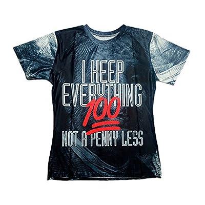 Harajuku T-shirt 3d Print 2pac Tupac/rihanna/adventure Time/miley Cyrus