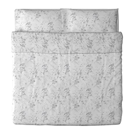 Amazon Ikea Alvine Kvist Duvet Cover and Pillowcase White