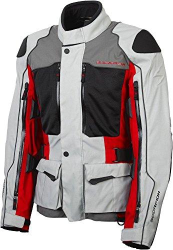 Scorpion XDR Yosemite - Mens Touring Motorcycle Jacket - Red - X-Large
