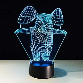 Incroyable Illusion Led Chevet De Veilleuse Table 3d Lampe xrCtQshd