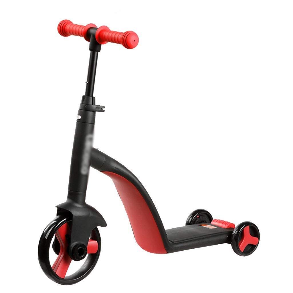 las mejores marcas venden barato rojo ZAIHW Scooter de de de Kick Scooter Ajustable para niños 2 en 1 para equilibrar Trike para niños pequeños o niñas de 2 a 5 años  productos creativos