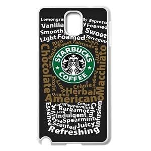 Hjqi - Customized Starbucks Phone Case, Starbucks DIY Case for Samsung Galaxy Note 3 N9000
