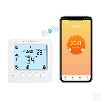 Gut bekannt WiFi Thermostat Heizung Smart digital Raumthermostat KP49