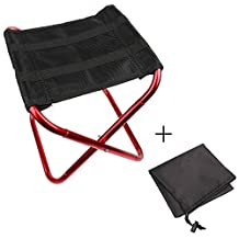 Longwider Outdoor Folding Chair Lightweight Foldable Beach Stool for Camping Fishing Picnic with Carry Bag