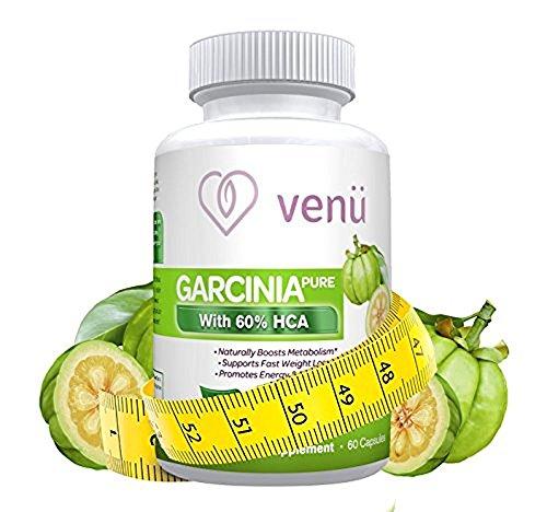 Venu Beauty Pure Garcinia Cambogia Extract – 60 Capsules w
