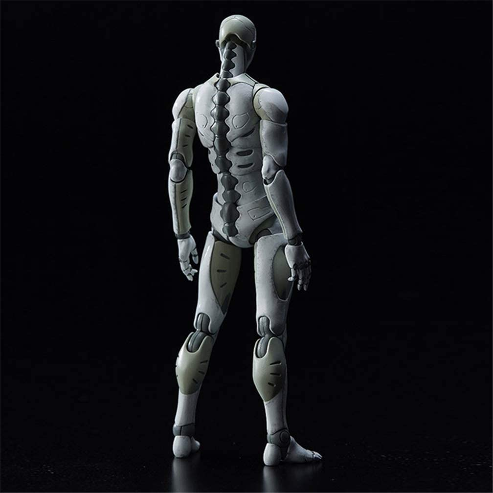 1//12 iGREATWALL Drawing Mannequin Action Figures Model with Movable Joints Gestures,Model Stands for Sketching 6.3 Height