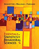 img - for Essentials of Statistics for The Behavioral Sciences book / textbook / text book