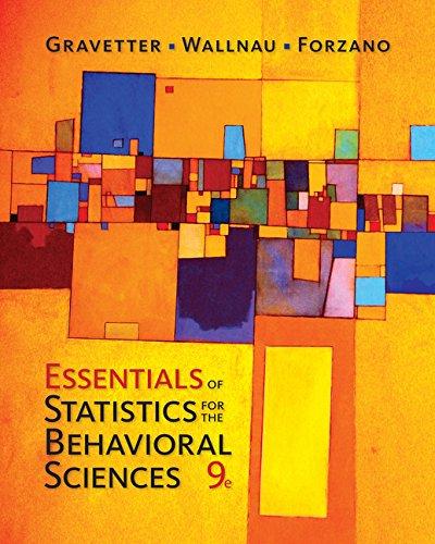 Essen.Of Stat.F/Behavioral Sci.
