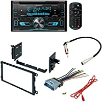Kenwood DPX502BT 2 Din Receiver with Bluetooth+Custom Wire Harness And Dash Kit