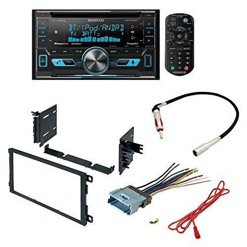 Kenwood DPX502BT 2 Din Receiver with Bluetooth+Custom Wire