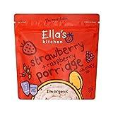 Ella's Kitchen Strawberry & Raspberry Porridge 175g - Pack of 6