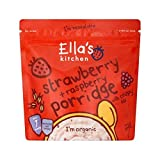 Ella's Kitchen Strawberry & Raspberry Porridge 175g - Pack of 4