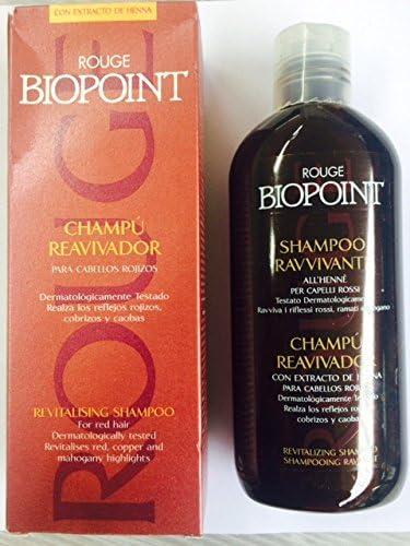 Rouge Biopoint Shampoo Restauradora para pelo rojos 200 ml ...