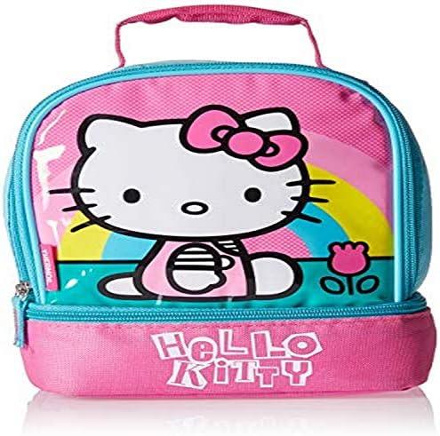 Super Cute Hello Kitty Lunch Box Bag Storage Bag Handbag Iinsulation Picnic Bag
