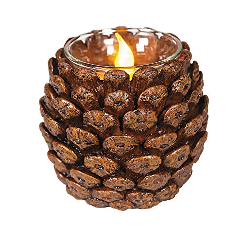 Fun Express Pinecone Votive Holder