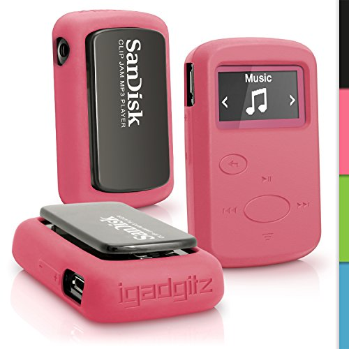 Picture of an iGadgitz Pink Rubber Silicone Case 5055644819957