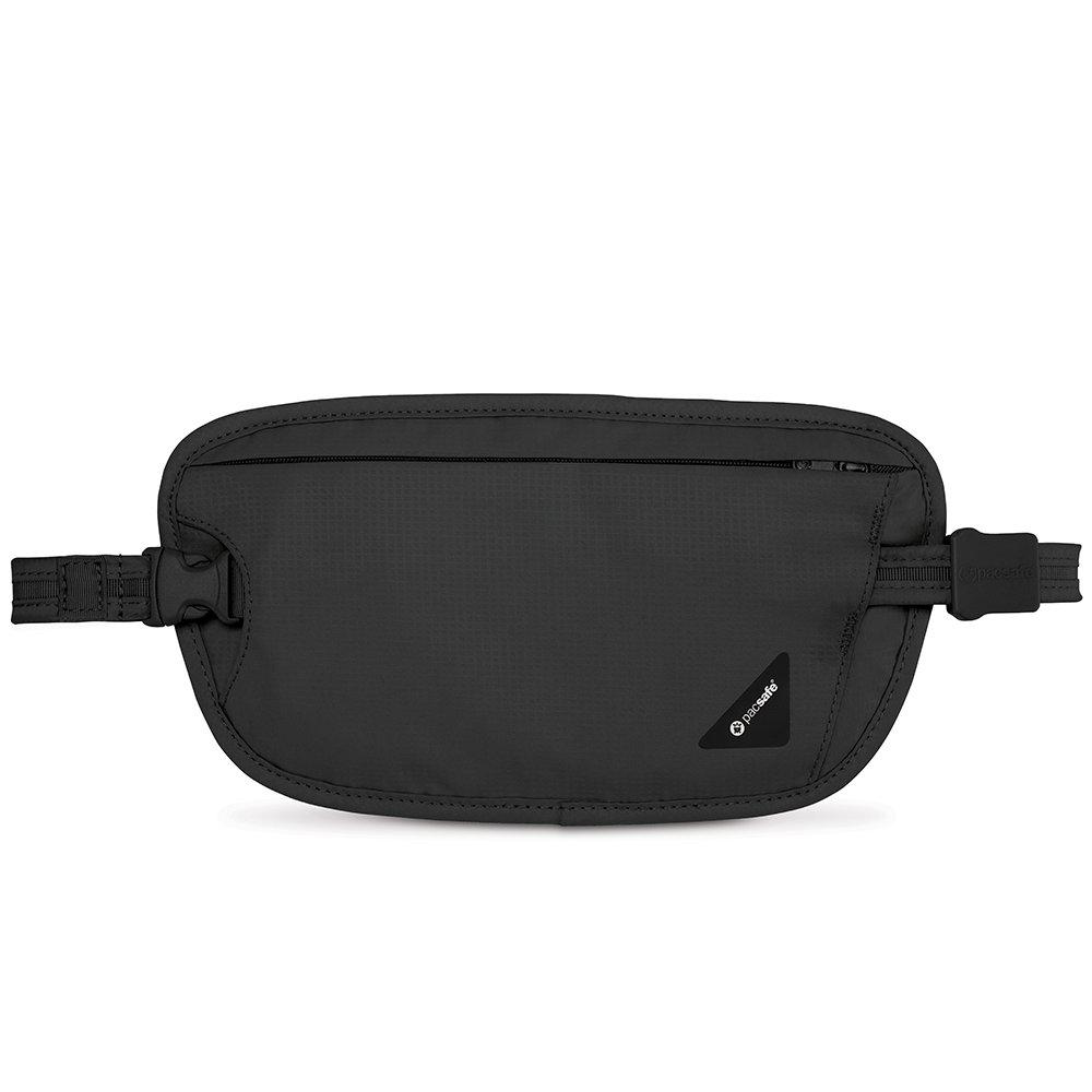 Pacsafe Coversafe X100 Anti-Theft RFID Blocking Waist Wallet, Black by Pacsafe