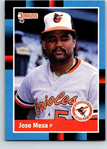Baseball MLB 1988 Donruss #601 Jose Mesa NM-MT RC Rookie -