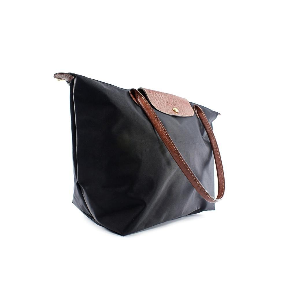 Longchamp Le Pliage Large Shoulder Tote Bag in Black
