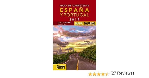 Mapa de Carreteras de España y Portugal 1:340.000, 2019 Mapa ...
