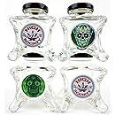 Dope Jars - One of a Kind Herb Storage (Fits About 1/8 Depending on Nug Density) (All 4 Designs)