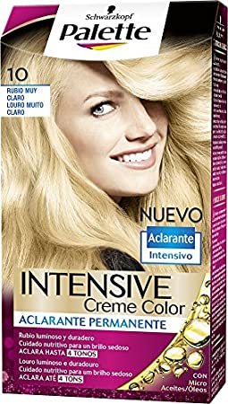 Palette Intense Color Cream Coloración Permanente, Tono 10 ...