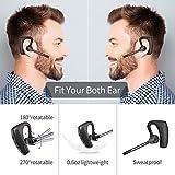 Bluetooth Headset 5.0 with CVC8.0 Dual Mic Noise