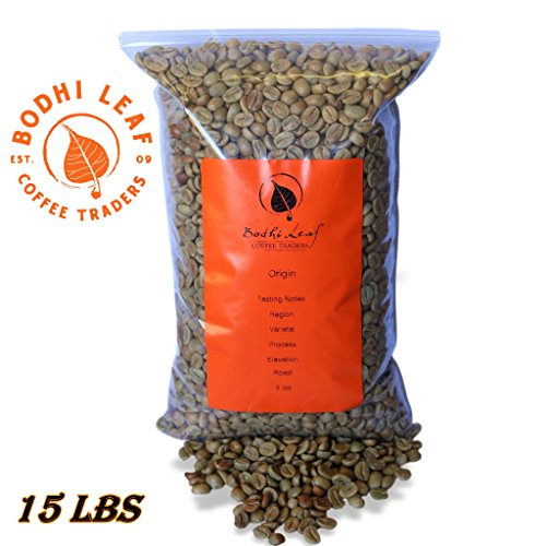 15 LBS Panama Finca Santa Teresa Washed Green Coffee 100% Specialty Arabica Caffeinated Beans by Bodhi Leaf Trading Company