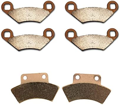 Polaris 300 2X4 300 4X4 Brake Pads Front and Rear Brakes fits 1994