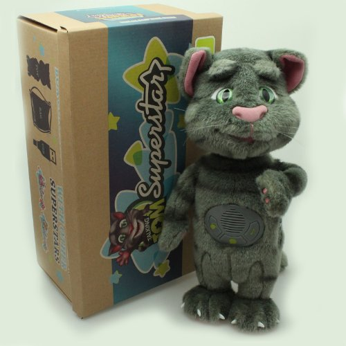 Talking Tom and Friends 5292522136724 Talking Friends Plush Toy with Great Sound Effects - Fully Licensed: Amazon.co.uk: Toys & Games