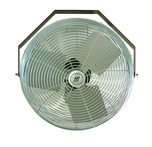 TPI Corporation U18-TE Industrial Grade Workstation Fan, 18