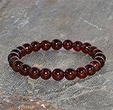 7mm Pyrope Garnet Bracelet, Red Garnet Pyrope, Genuine Pyrope Jewelry, Pyrope Bracelet, Gemstone Bracelet, Healing Bracelet,Wrist Mala Beads