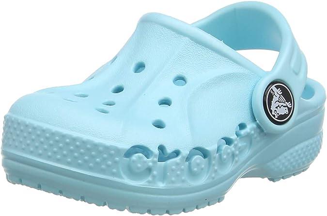 J2 US Little Kid Water Shoes for Kids Black Comfortable Slip On Shoes Crocs Kids Baya Clog