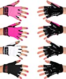 Mighty Grip Pole Dance Gloves-Hot Pink-Medium