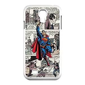Samsung Galaxy S4 9500 Cell Phone Case White Superman 001 HIV6755169533893