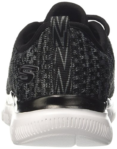 Skechers Jungen Flex Advantage 2.0-Cravy Sneaker Schwarz (Black/Grey)