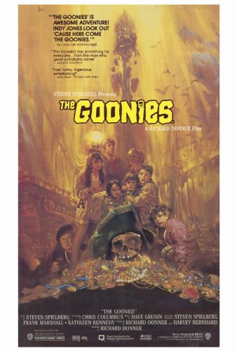 Pop Culture Graphics The Goonies 27x40 Movie Poster from Pop Culture Graphics