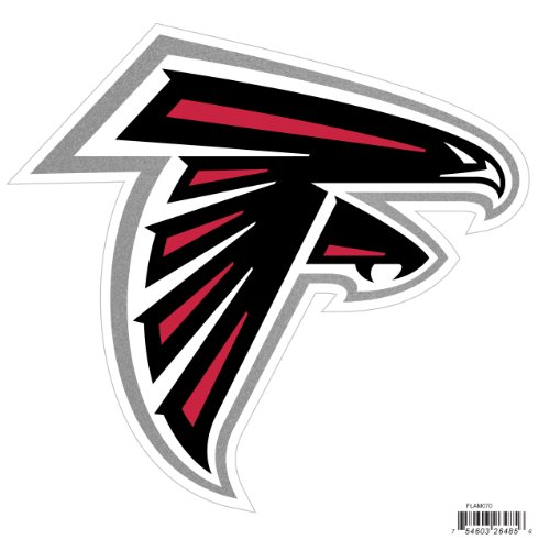 NFL Atlanta Falcons Automotive Magnet, 8-Inch
