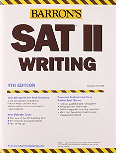 Best book for SAT Writing section?